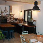 Espace cuisine maison traditionnelle